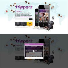 TRIPPERZ 홈페이지 디자인