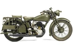 1944 Norton Model 16H Military Maybe put a bigger engine on it and reinforce the frame, and then put Captain Americas shield on the front and there's a great motorcycle