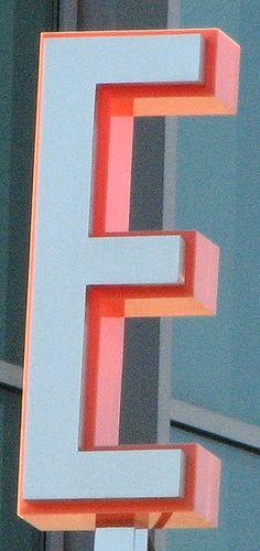 The Letter E | Type Design