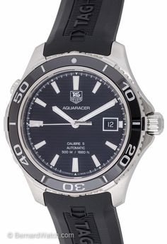 TAG Heuer - Aquaracer Automatic 500M Calibre 5 : WAK2110.FT6027 for $1,600 for sale from a Trusted Seller on Chrono24