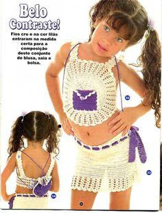 Crochê e tricô da Fri, Fri´s crochet and tricot: Februar 2011