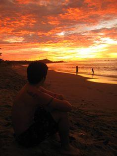 Me at Zorritos Beach, the best beach i've ever seen at Tumbes - Peru