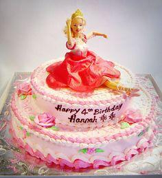 Ballerina Birthday Cake | Princess Birthday Cakes | Fairytale Birthday Cakes | Sweet Secrets ...