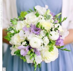 Wedding Flowers - Flowers - MRSLEGO's Purple Wedding by Color Blog