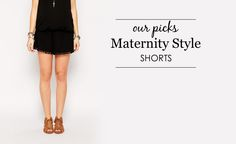 Our Favorite Maternity Shorts - Project Nursery