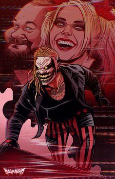 Wwe Bray Wyatt, Wrestling Posters, Undertaker Wwe, Wrestling Superstars, Wwe Photos, Cool Art Drawings, Professional Wrestling, Thor, Fan Art
