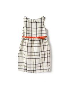 dress w/ belt - zara kids