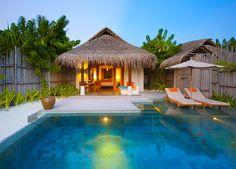 Anantara Dhigu - Uma das villas que te aguardam por aqui