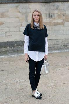 A veces resulta difícil adaptar un trend a los looks de oficina, pero no es el caso del estilo boyish, ya que además de hacerte lucir súper fashion y sofis