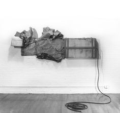 """Robert Rauschenberg """"Untitled, (Cardboard)"""", 1972 Robert Rauschenberg, Dada Movement, Neo Dada, 3d Artwork, American Artists, Artist At Work, Sculpture, Inspiration, Painting"""