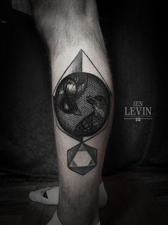 Tattoos by Ien Levin 2013 by Ien Levin, via Behance