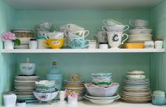 Vintage Tea Cups Collection. Just so lovely! ♥