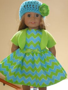 AMERICAN GIRL DOLL CLOTHES CUSTOM MADE IN THE USA-DRESS LOT W105