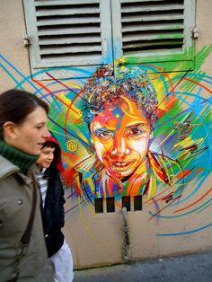 marseille 2 u Graffiti Stencil Art by Street Artist Art Du Monde, Street Art Banksy, Best Graffiti, Graffiti Artwork, Amazing Street Art, Portraits, Stencil Art, Art For Art Sake, Street Artists