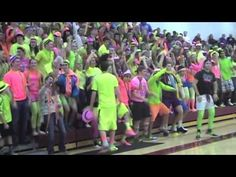 Buchanan High School - Battle of the Fans 2013.m4v - YouTube  If only my school had spirit like these high schoolers!!