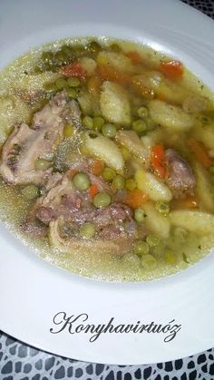 Konyhavirtuóz: Becsináltleves Soup Recipes, Keto Recipes, Cooking Recipes, Hungarian Recipes, Dried Beans, Bean Soup, Ciabatta, Low Carb Keto, Bon Appetit