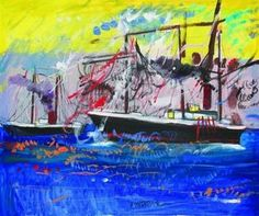 The ~ Artworks of Dimitris Mytaras and containing the word dimitris mytaras, expressionism Greece Painting, Painter Artist, 10 Picture, Greek Art, Art Database, Painters, Artworks, Contemporary Art, Art Gallery