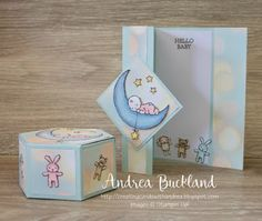 Moon Baby. Creating Cards with Andrea