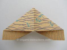 Origami Matthews Butterfly Step 11