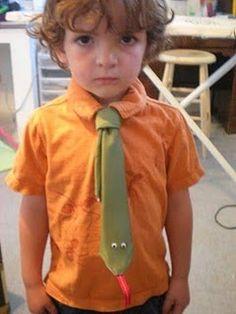 Snake tie for the bo
