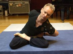 Scaravelli inspired yoga is a stress free yoga, that benefits everyone. The yoga classes are suitable for all ages and all levels of yoga experience Wellness Fitness, Yoga Fitness, Sting Musician, Andy Garcia, Clive Owen, Yoga Dance, The New Wave, Famous Singers, Running Inspiration