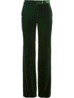 Shop Emilio Pucci wide leg velvet trousers in Luisa World from the world's best independent boutiques at farfetch.com. Over 1000 designers from 300 boutiques in one website.