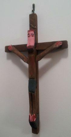 Emile Bluteau. Sculptor. Quebec. Crucific
