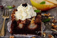 Polish Recipes, Polish Food, Pudding Cake, Dessert Recipes, Desserts, Chocolate Cake, Tart, Cheesecake, Food And Drink