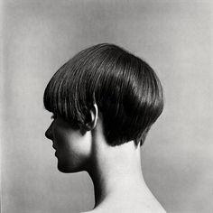 Grace Coddington's Five Point Cut by Vidal Sassoon, Photography by Eric Swayne