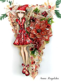 Just in case you were super busy preparing for the holidays and missed our fantastic 12 Days of Christmas challenge, here's a master list of all 12 Days! Prima Paper Dolls, Prima Doll Stamps, Vintage Paper Dolls, 12 Days Of Christmas, Christmas Tag, Christmas Crafts, Scrapbook Paper Crafts, Scrapbooking, Julie Nutting
