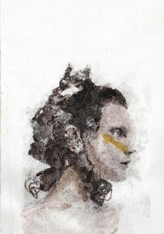 Young Dreamer   Art Print by Sara Santarsiero   Society6