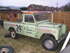 LAND ROVER  recovery
