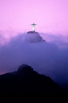 """He is risen from the dead."" Matthew 27:64 Christ the Redeemer, Corcovado Mountain, Rio de Janeiro, Brazil"