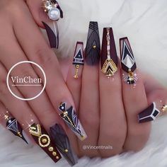 #NailArt via - VinChen Tran (@vincentnails) on Instagram