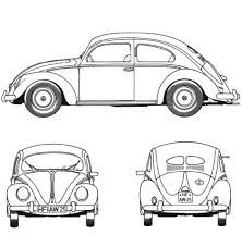 Volkswagen Beetle 1952 Coloring Page From Category Select 28148 Printable Crafts Of Cartoons Nature Animals Bible And Many More