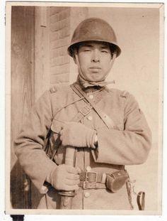 Segunda Guerra Mundial foto de soldado japonês - Guerra da China