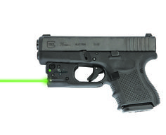 Viridian continues to lead in green laser technology with the introduction of the first and only green laser sight for Glock 26 and 27 pistols.
