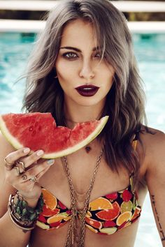 The Make-up Shooting | Summer and Fruits