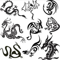 Norwegian dragon tattoo ideas