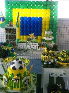 Lu Medina Cupcakes e Delícias: FESTA COPA DO MUNDO 2014 World Cup Party               Visit www.fireblossomcandle.com for more party ideas!