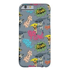 Batman And Robin Action Pattern Barely There iPhone 6 Case