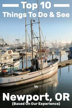 Top 10 Things to Do and See in Newport, or (Based on Our Experience) - Trip Memos Oregon Camping, Oregon Road Trip, Oregon Trail, Medford Oregon, Oregon Usa, Oregon Ducks, Coos Bay Oregon, Tillamook Oregon, Yachats Oregon