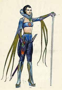 Character designs by Mœbius for Jodorowsky's unproduced version of DUNE. I've featured some before. Jean Giraud, Moebius Comics, Moebius Art, Dune Characters, Fantasy Characters, Space Illustration, Illustrations, Manado, Comic Book Artists