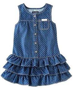 5bb805770bc3f7d77514f7025445ab8f (568x694, 286Kb) Kids Frocks, Frocks For Girls, Little Dresses, Little Girl Dresses, Toddler Dress, Baby Dress, Ruffle Dress, Infant Toddler, Baby Outfits