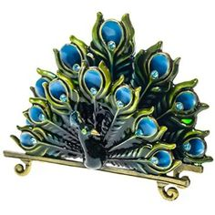 Peacock Business Card Holder http://shop.crackerbarrel.com/Peacock-Business-Card-Holder/dp/B016P0JU2M