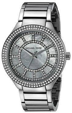 Michael Kors Women's Kerry Gunmetal-Tone Watch MK3410