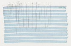 girlgonedone:  float level by diagramism (pen, pencil and paint on paper)