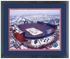 "Michigan Stadium 2014 NHL Winter Classic-11"" x 14"" Matted/Framed Photo Composite"