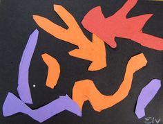 Simple art activities for children: Abstract art School Age Activities, Fun Activities For Kids, Art Activities, School Art Projects, Art School, Collage Making, Henri Matisse, Simple Art, Summer Art