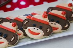Decorated cookies make great party favors to send home with guests.